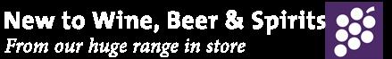 Shop Wine, Beer & Spirits
