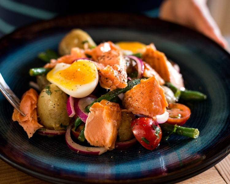 Regal Wood Roasted Salmon Niçoise Salad
