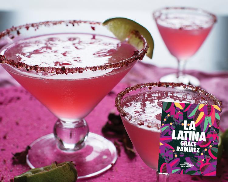 La Latina Hibiscus Margaritas