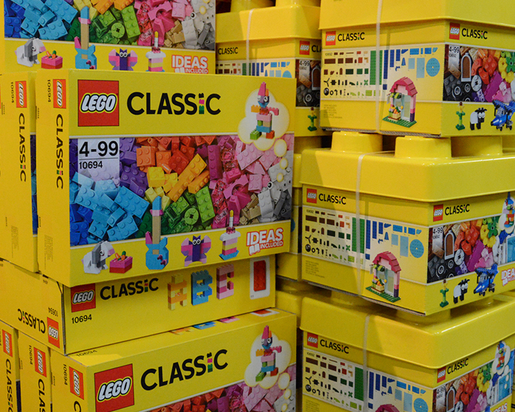 LEGO, Sylvanian Families and Playmobil Clubs