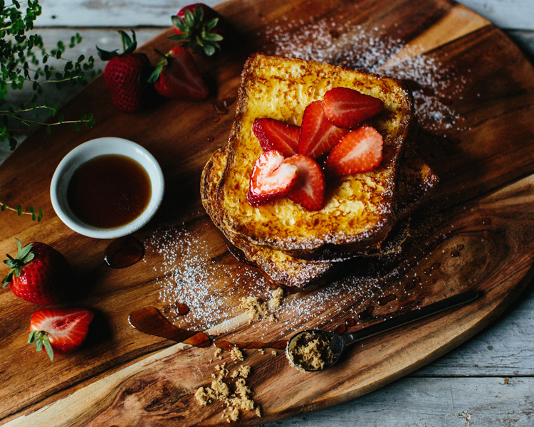 Puhoi Valley 'Half and Half' French Toast