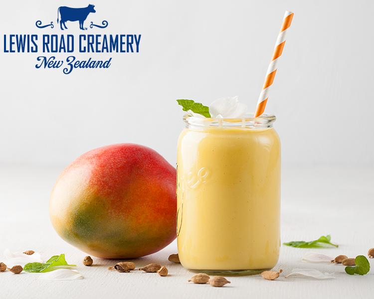 Lewis Road Creamery Mango Rose Thickshake
