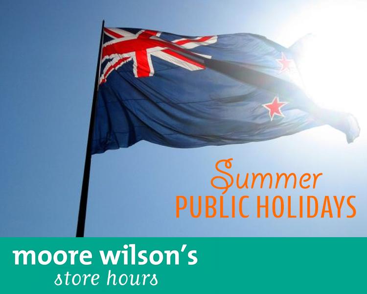 Waitangi Day Store Hours