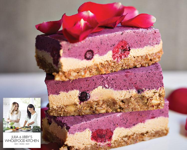 Julia & Libby's Berry Cheesecake Slice