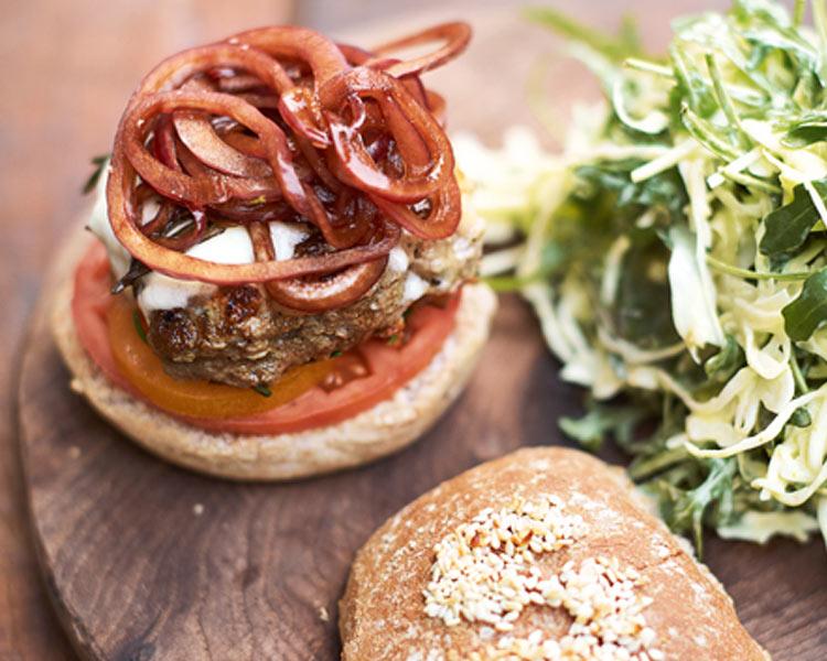 Jamie's Italian Super Food Burgers