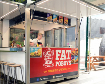 Moore Wilson's Pop-Up Food Pods