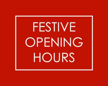 Festive Store Hours