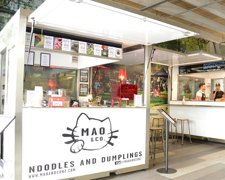 Moore Wilson's Pop-Up Food Pods