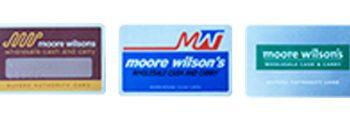 Moore Wilson's Card
