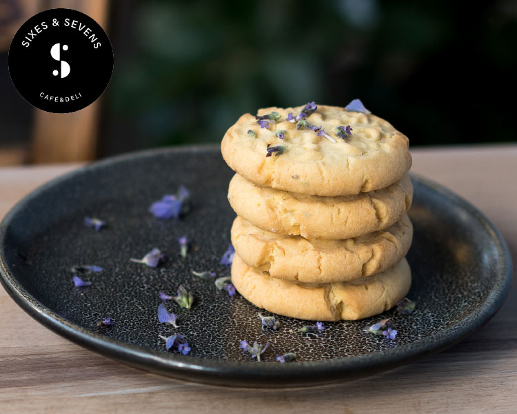 Sixes and Sevens Lavender Shortbread