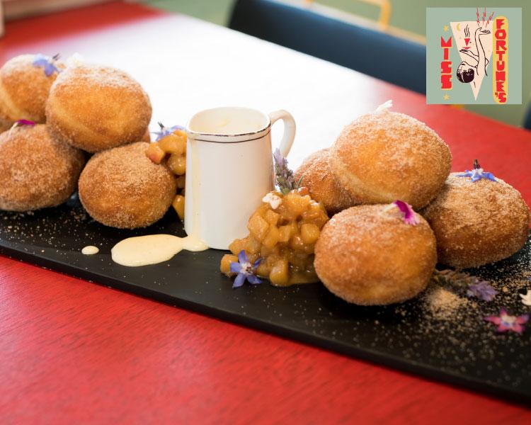 Miss Fortune's Warm Apple & Cinnamon Donuts
