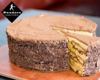 Pandoro's Tiramisu Cake