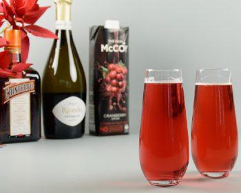 Festive Poinsettia Cocktail