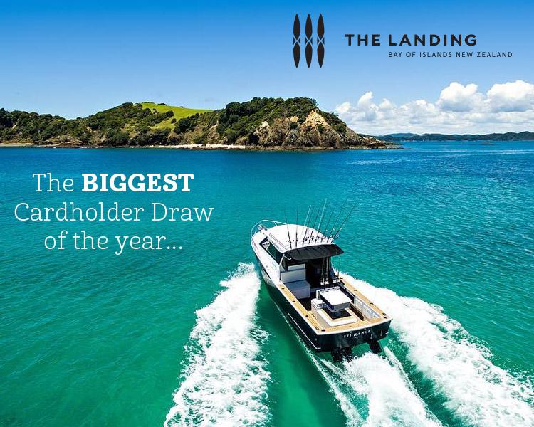 The Landing Moore Wilson's Cardholder Draw
