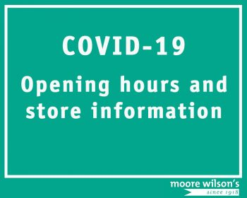 COVID-19: Opening Hours and Store Information