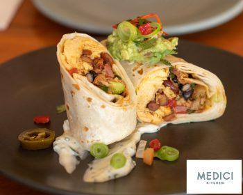 Medici Kitchen Breakfast Burrito