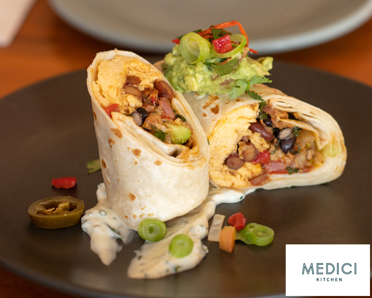 Medici Kitchen Breakfast Burrito