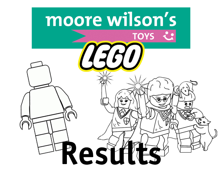 LEGO Colouring Competition Winners