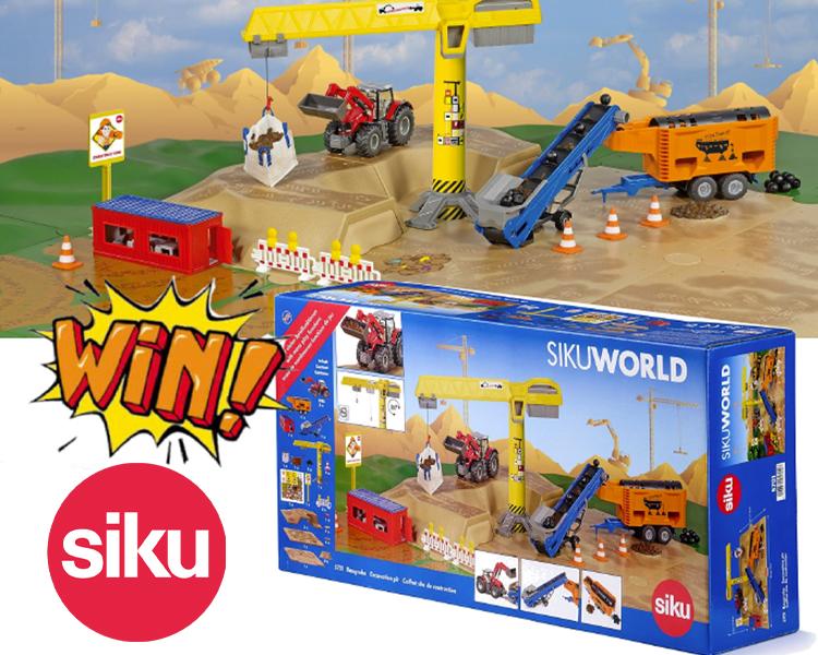 Win a SIKU World Excavation Set!