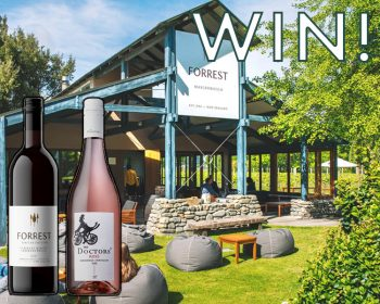 Cardholder Draw: Win with Forrest Wines